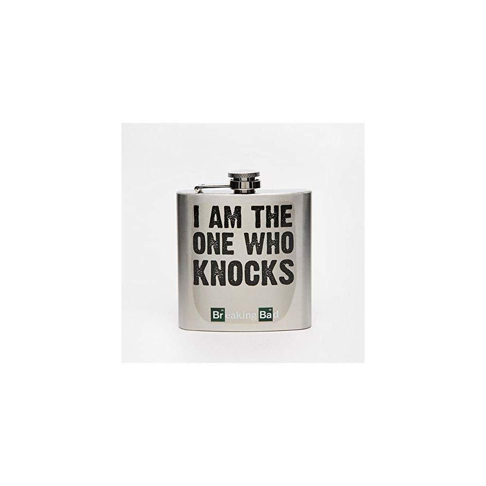 50 Fifty Breaking Bad Hip Flask 6oz