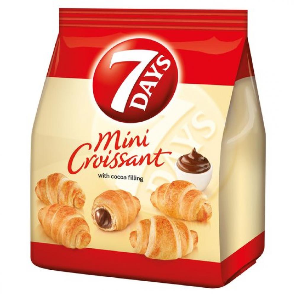 7 Days Mini Croissants With Cocoa Filling 185g