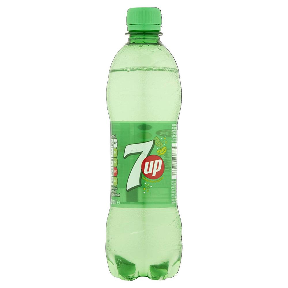 FLASH DEAL  7up Sparkling Lemon and Lime Drink 500ml
