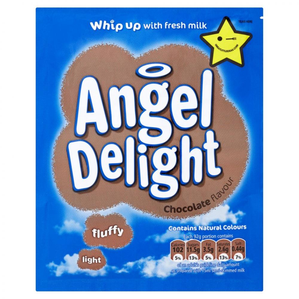 Angel Delight Chocolate Flavour Dessert Mix 59g