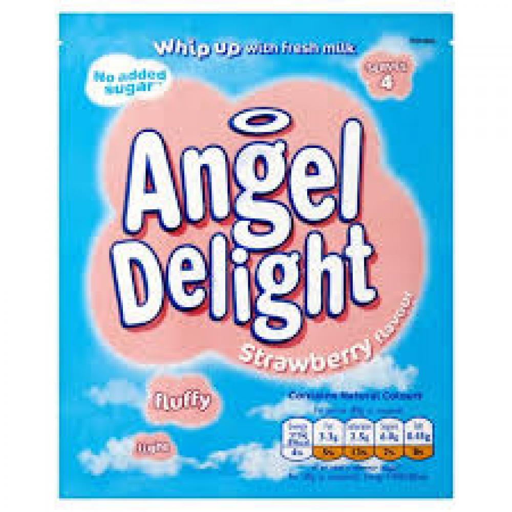 Angel Delight Strawberry Flavour Dessert Mix 47g