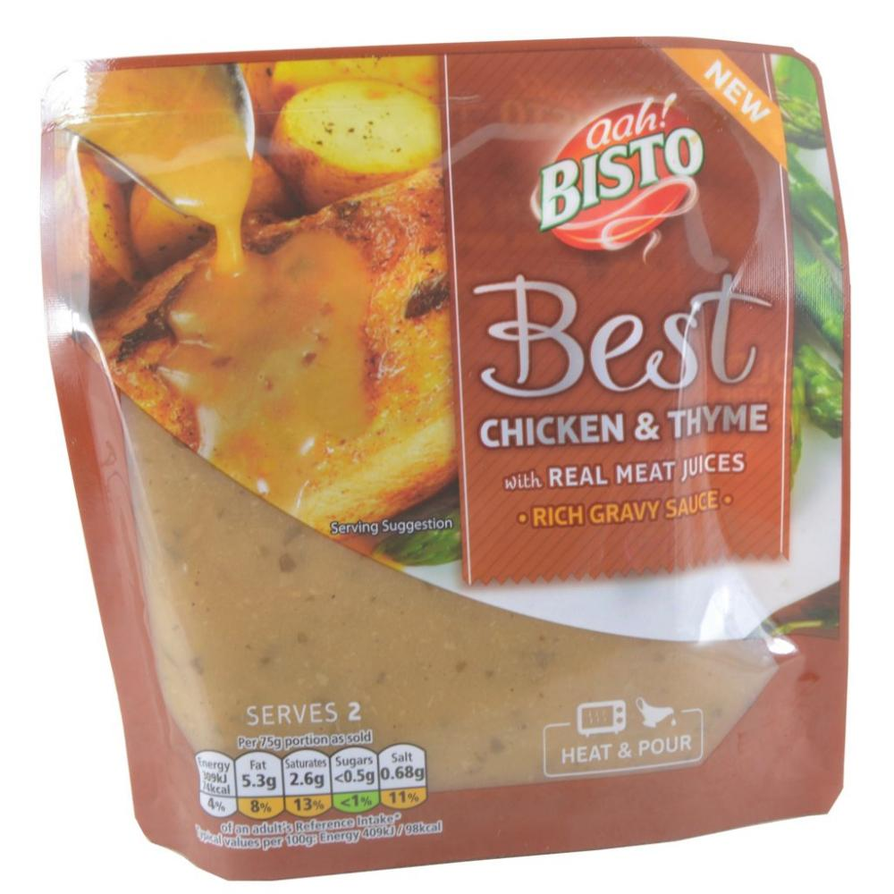 Bisto Best Chicken And Thyme Rich Gravy Sauce 150g