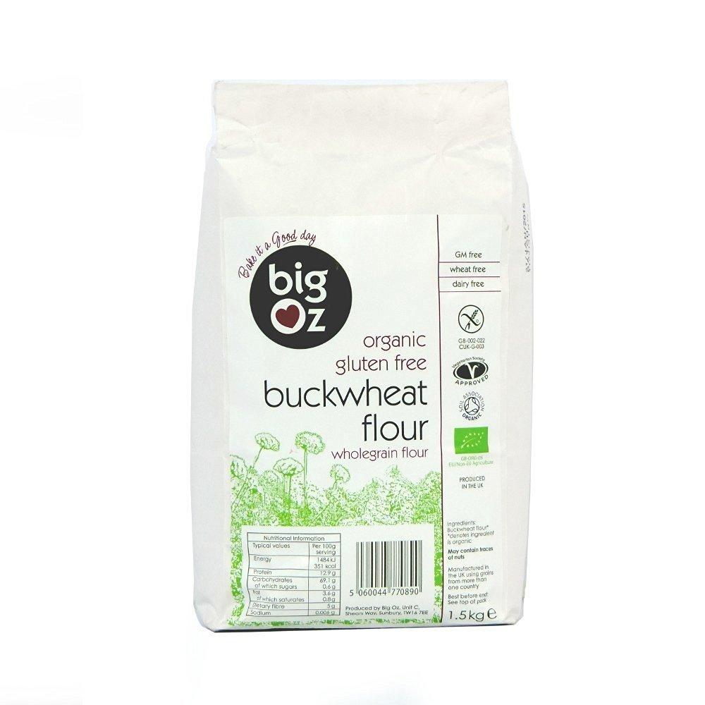 Big Oz Organic Buckwheat Flour 1500 g