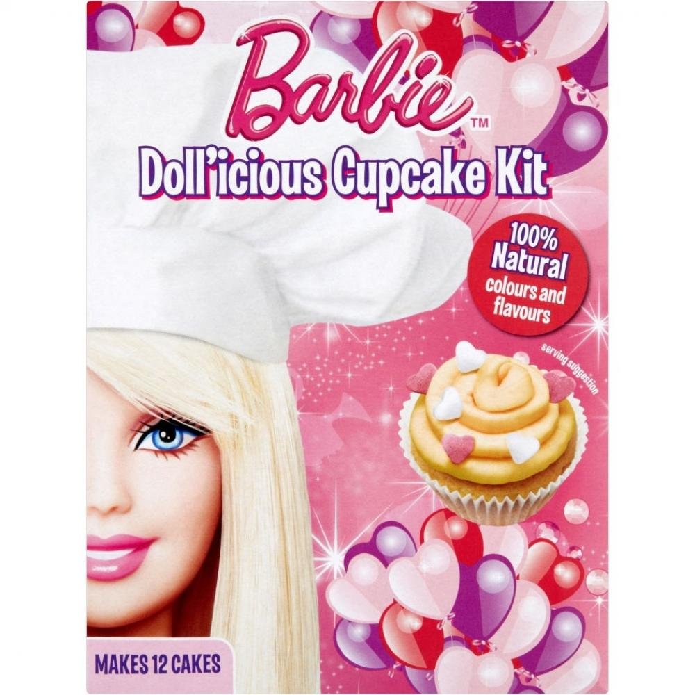 Greens Barbie Dollicious Cupcake Kit 254g