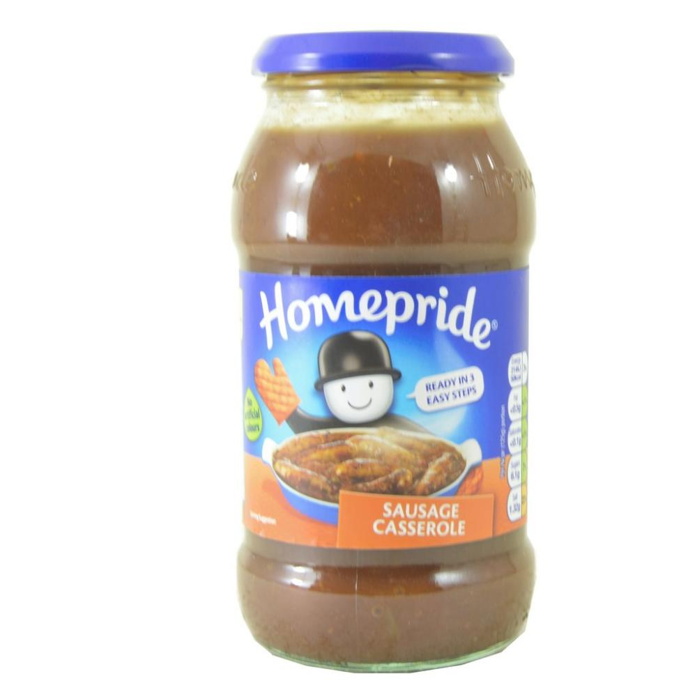 Homepride Sausage Casserole Cooking Sauce 500g