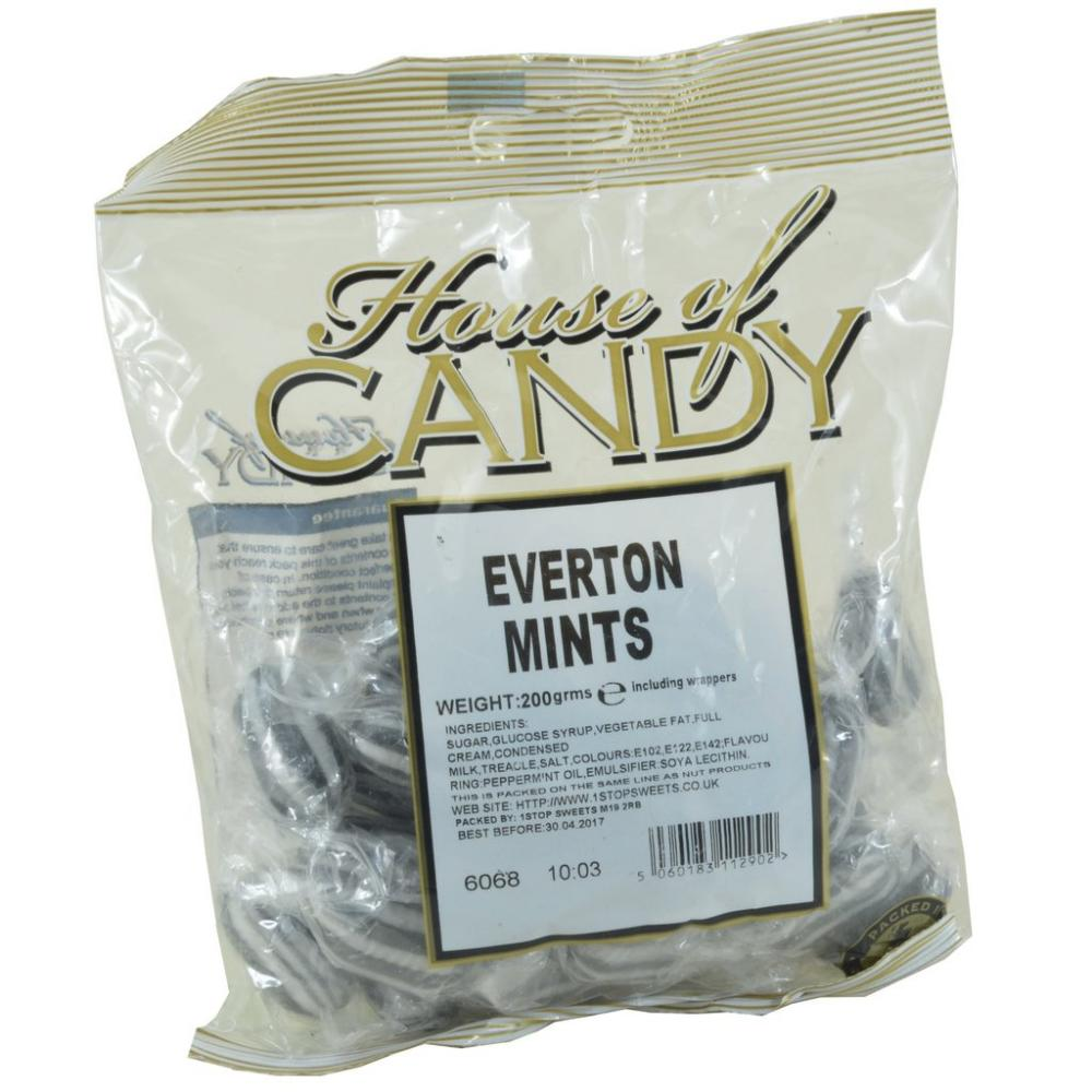 House Of Candy Everton Mints 200g