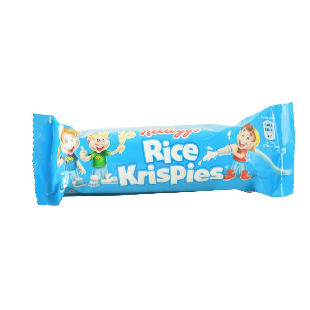 Kelloggs Rice Krispies Cereal Snack Bar 20g