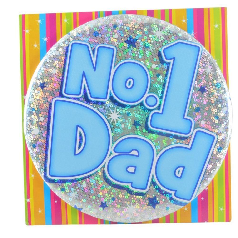 SPRING SALE  Large Badge No 1 Dad