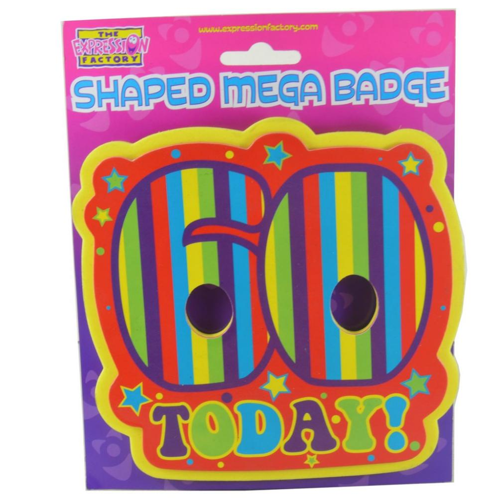 SUMMER SALE  The Expression Factory Shaped Mega Badge 60 Today