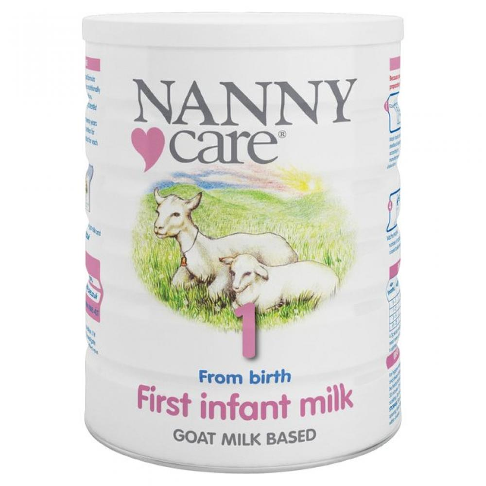 Nanny Care Stage 1 Goat Based First Infant Milk 900g