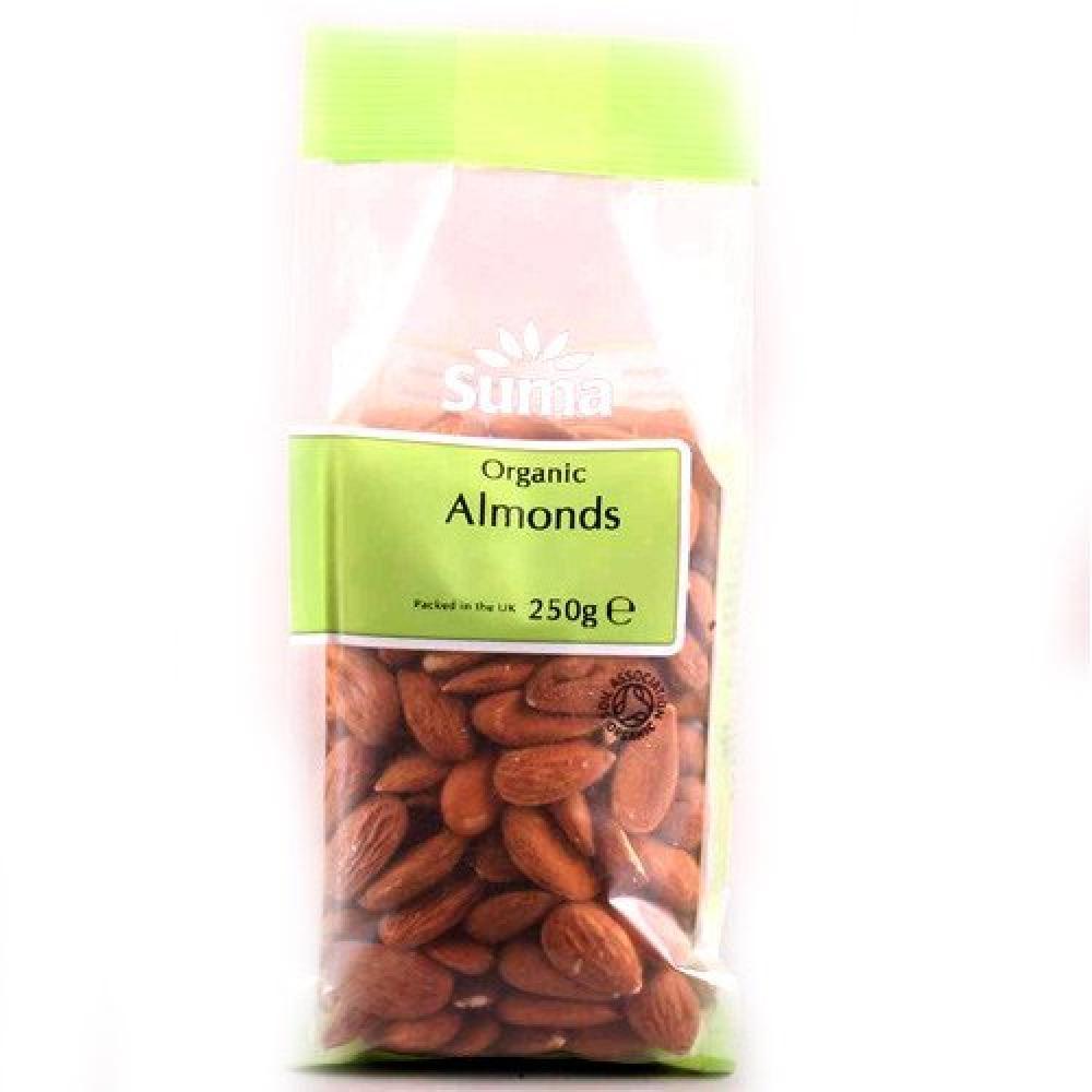 Suma Organic Almonds 250g
