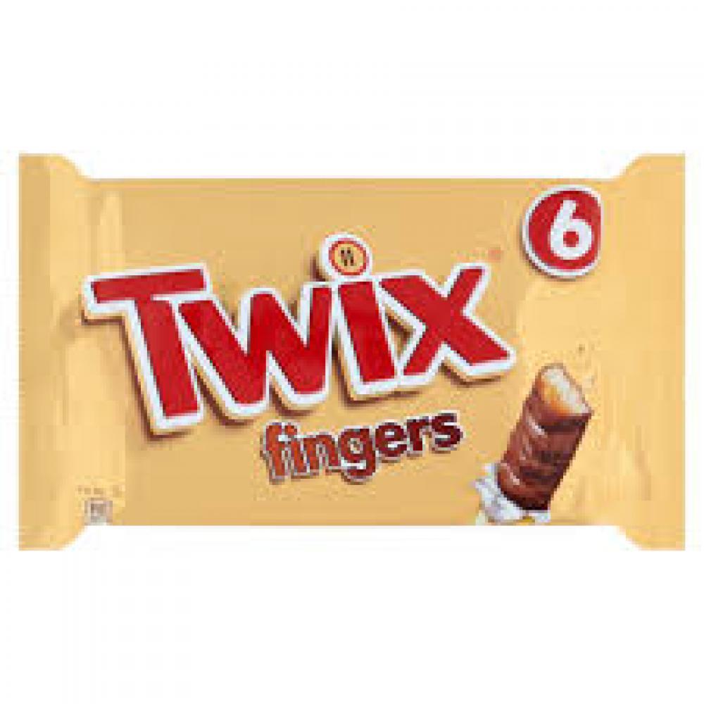 Twix Fingers 6 x 23g