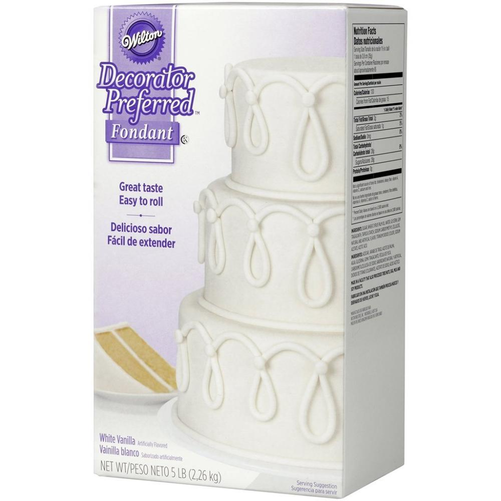 Wilton White Decorator Preferred Fondant 2.26Kg