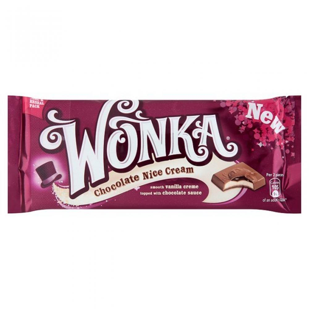Special Offer Wonka Chocolate Nice Cream 100g Approved Food