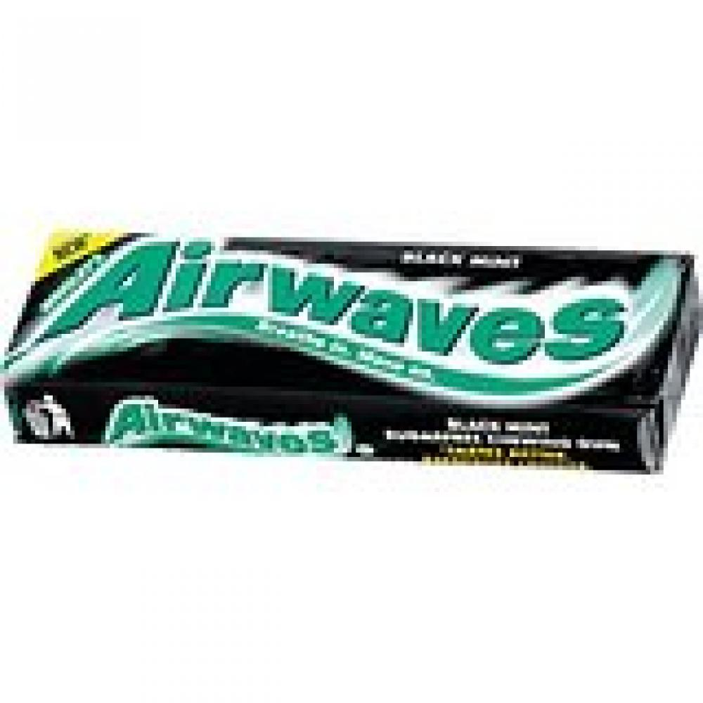 Airwaves Extreme Menthol and Eucalyptus Sugar Free Chewing Gum 10 Pellets