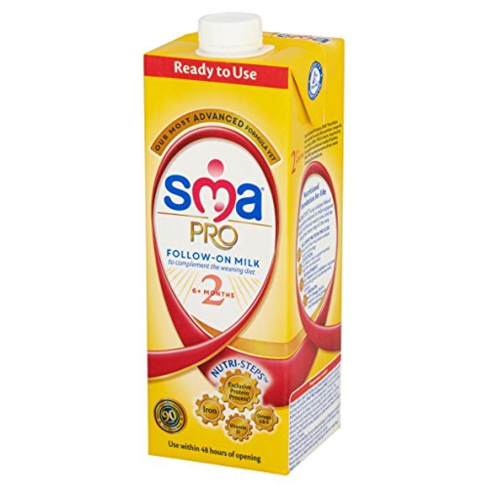 SMA Follow On Milk 6 Month Plus 1 Litre