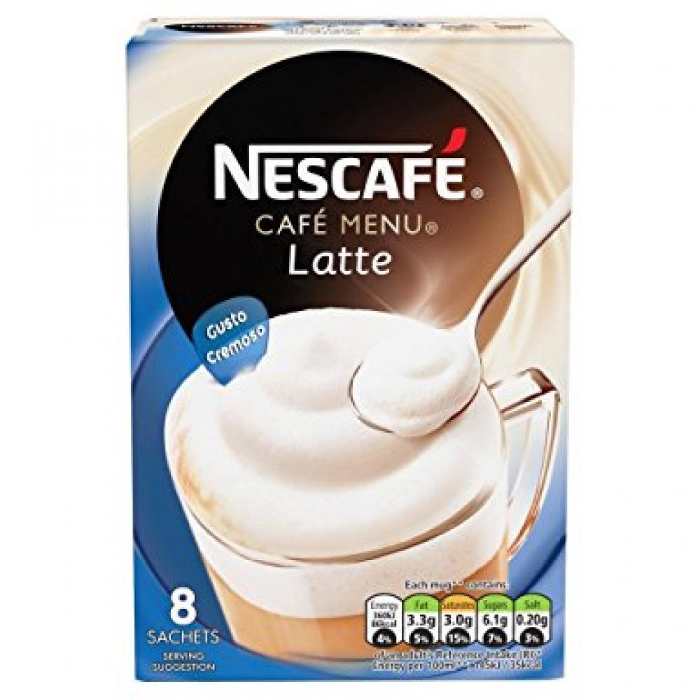 Nescafe Gold Latte 19.5g x 8 Sachets