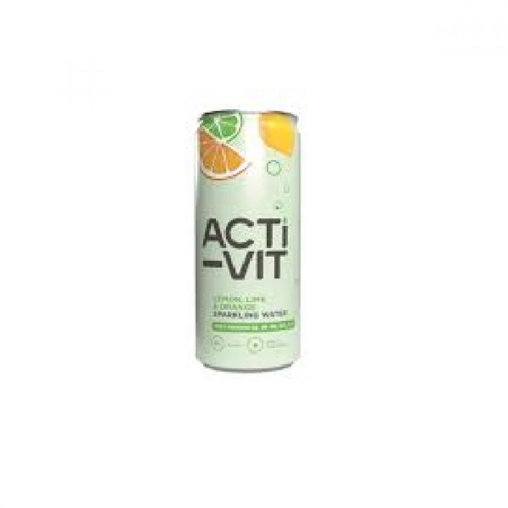 Acti-Vit Lemon Lime and Orange Sparkling Water 330ml