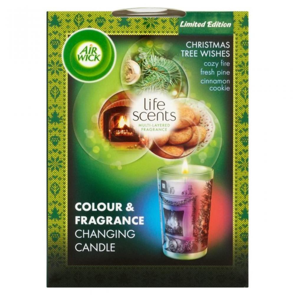 Air Wick Life Scents Christmas Tree Wishes Candle