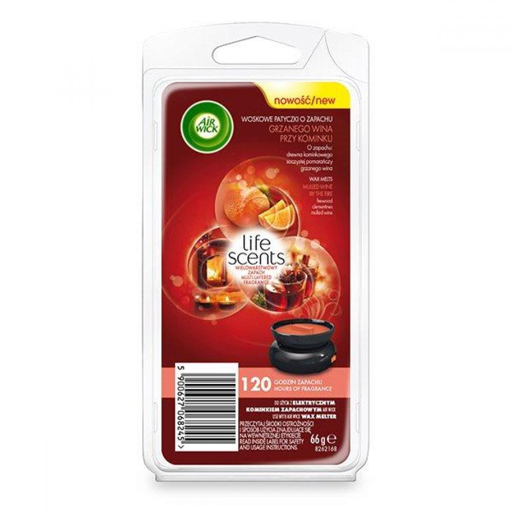 Air Wick Life Scents Mulled Wine by the Fire Wax Melts 66g