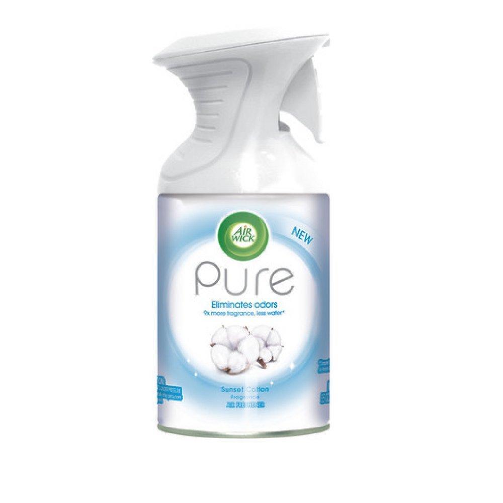 SALE  Air Wick Pure Sunset Cotton Fragrance Spray 250ml