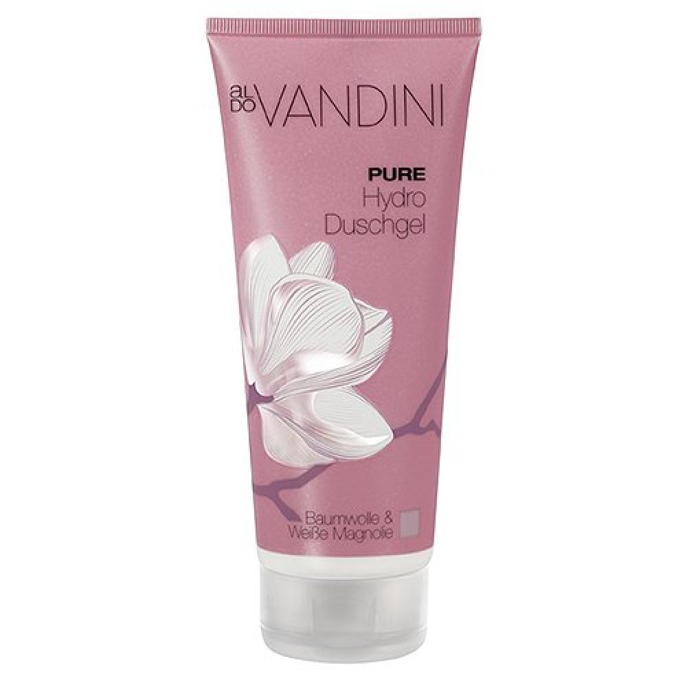Aldo Vandini Bath and Shower Gel - Cotton and White Magnolia 200ml