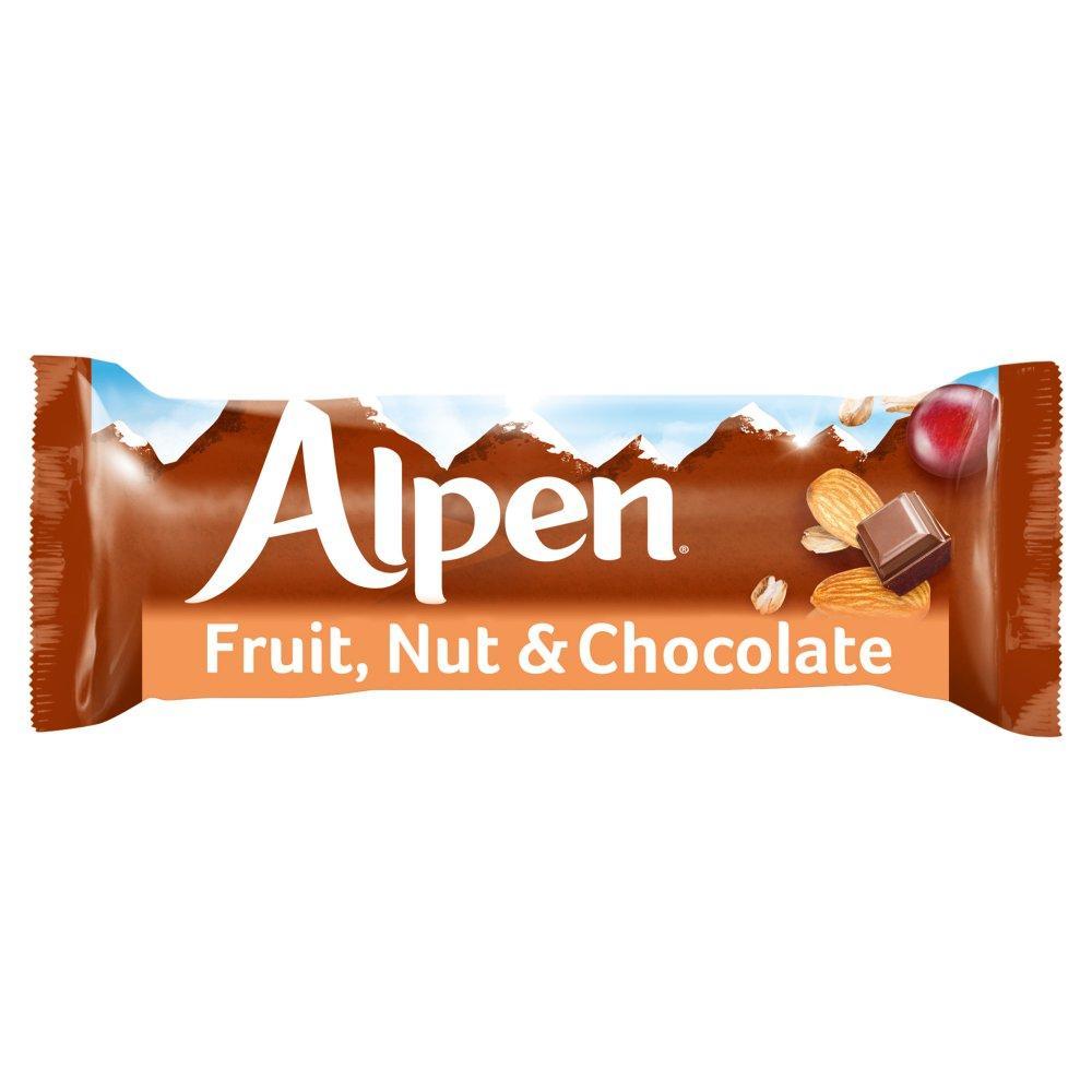 Alpen Fruit Nut and Chocolate Bar 29g
