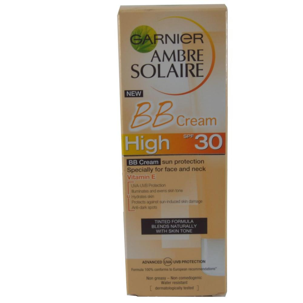 Garnier Ambre Solaire BB Cream High SPF 30 50ml | Approved Food