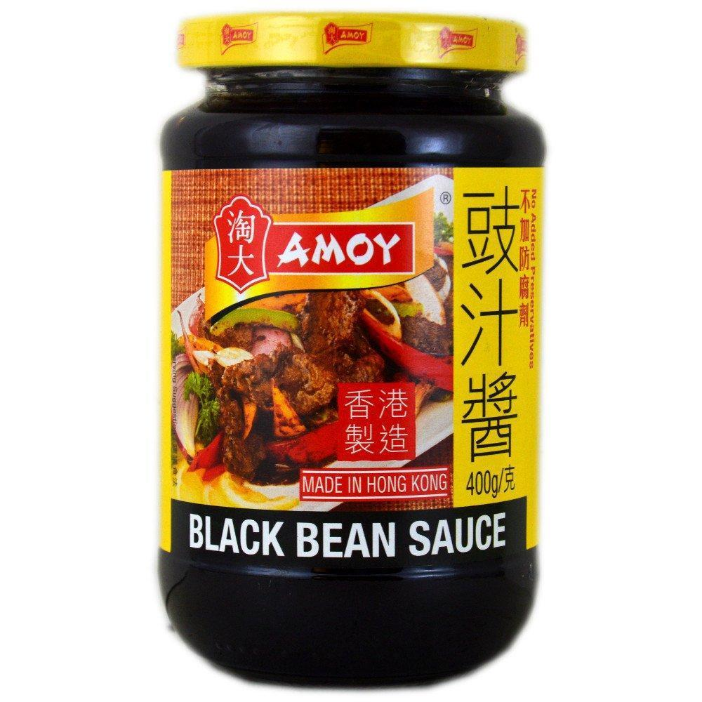Amoy Black Bean Sauce 400g