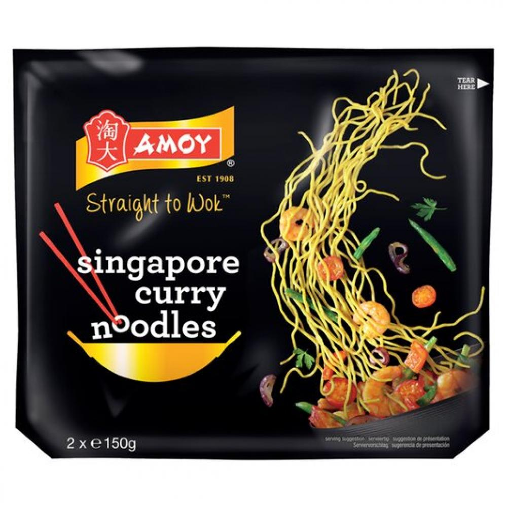 Amoy Singapore Curry Noodles 2 x 150g