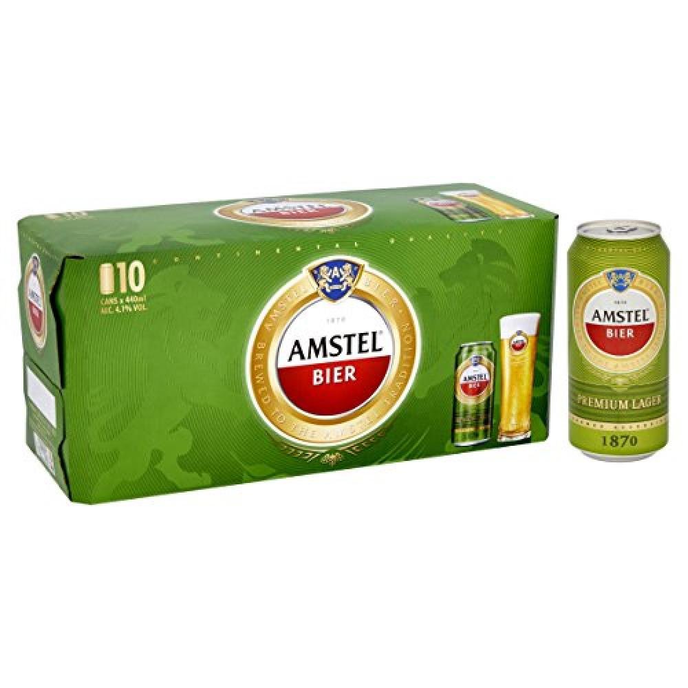 Amstel Bier Premium Lager Can 440ml