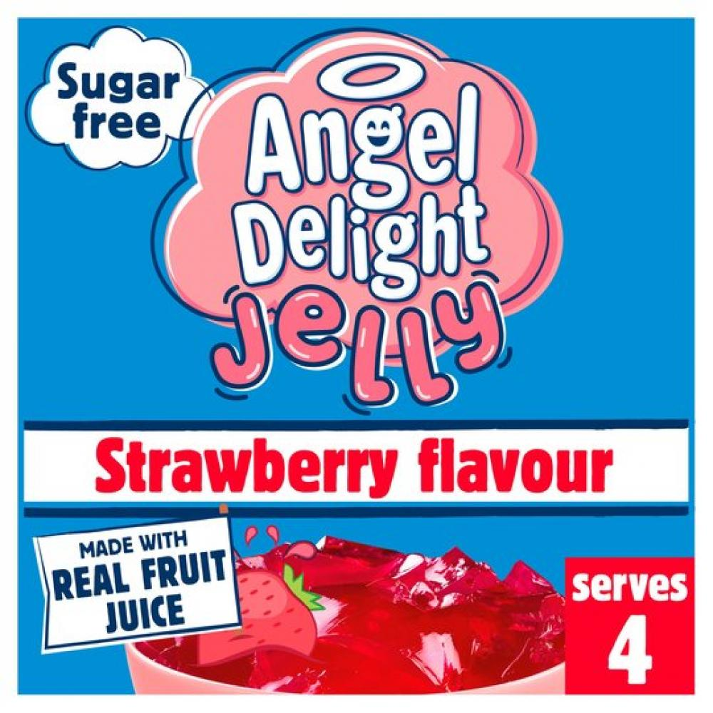 Angel Delight Jelly Strawberry Flavour 11.5g