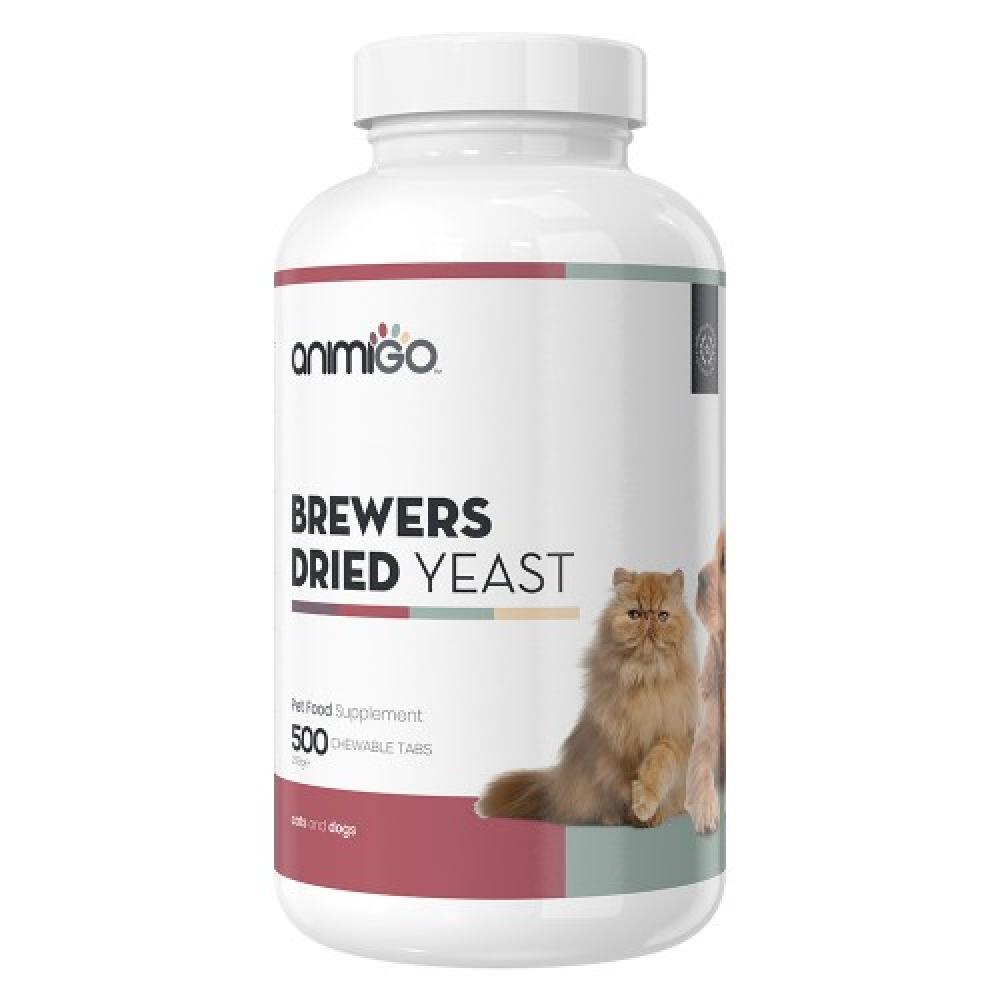 SALE  Animigo Brewers Yeast Pure Multivitamins Dried Tablet Supplement for Dog or Cat 500 tablets