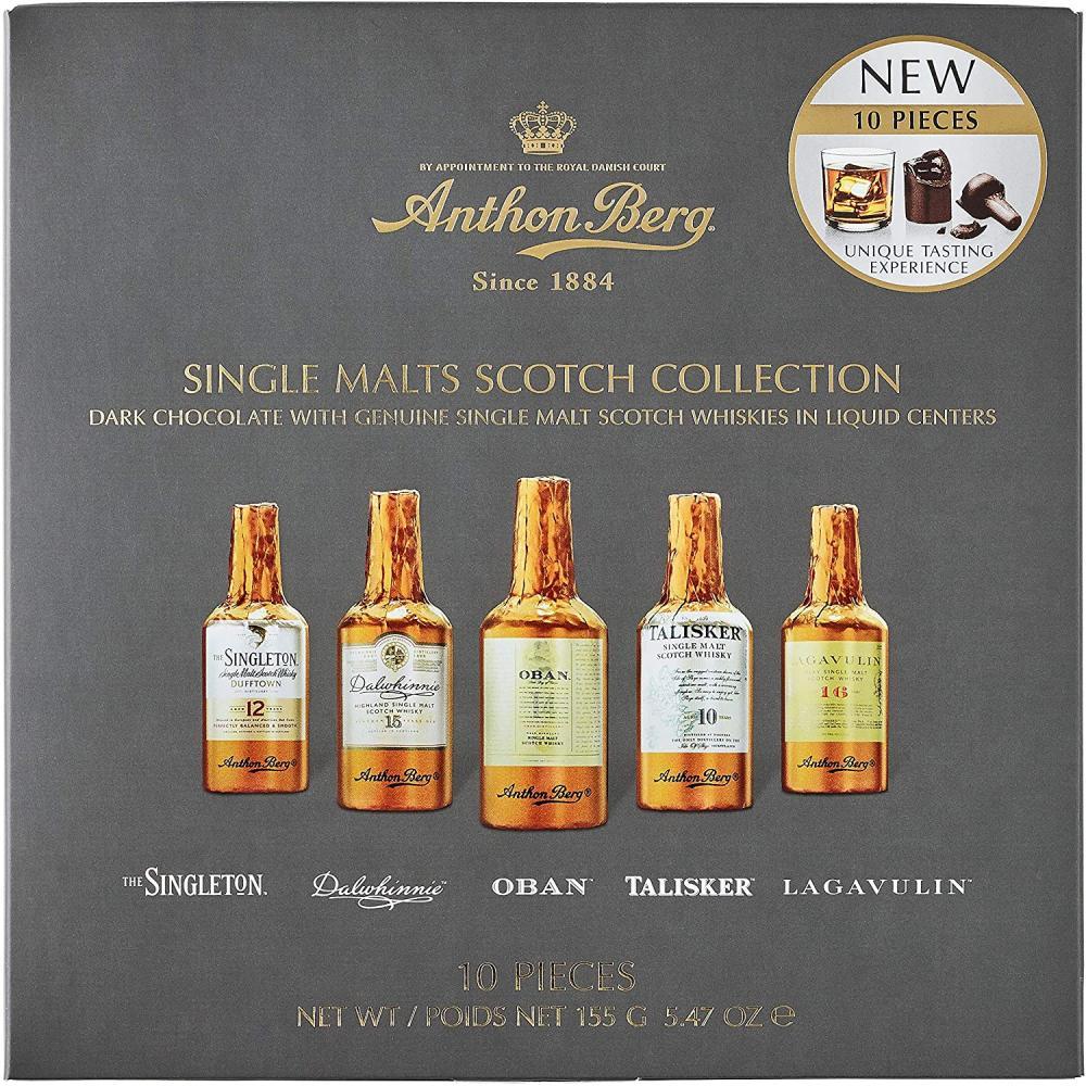 Anthon Berg Single Malts Scotch Collection 155g
