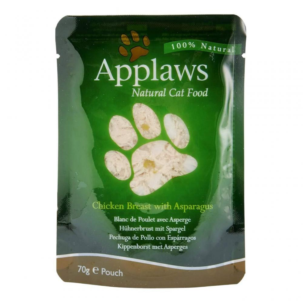 Applaws Cat Chicken and Asparagus 70g