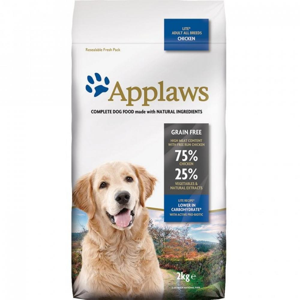 Applaws Dog Food Chicken Grain Free Adult All Breeds Lite 2kg