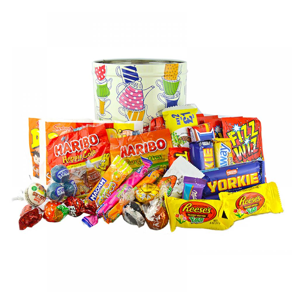 Approved Food Sweets Tin