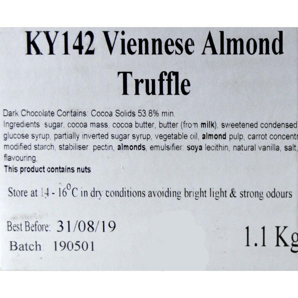 Approved Food Viennese Almond Truffle 1.1kg