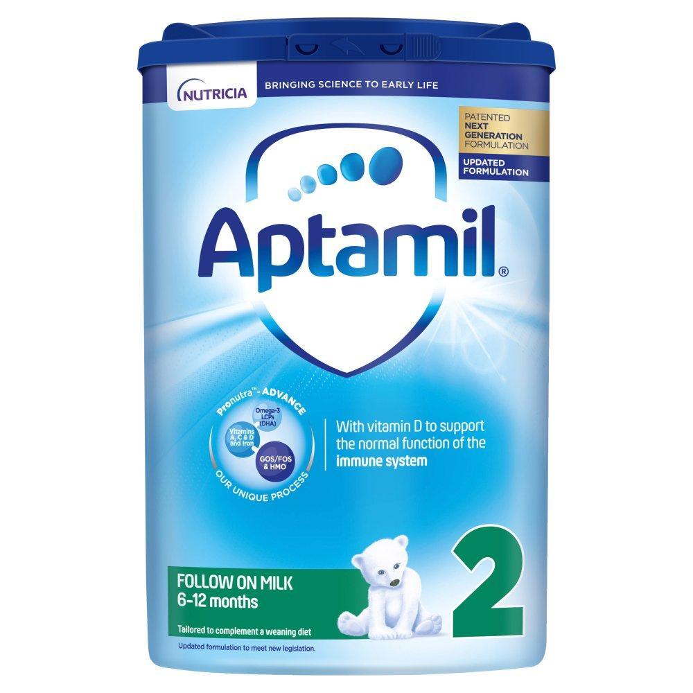 Aptamil Follow-On Milk 2 (6-12 Months) 800 g