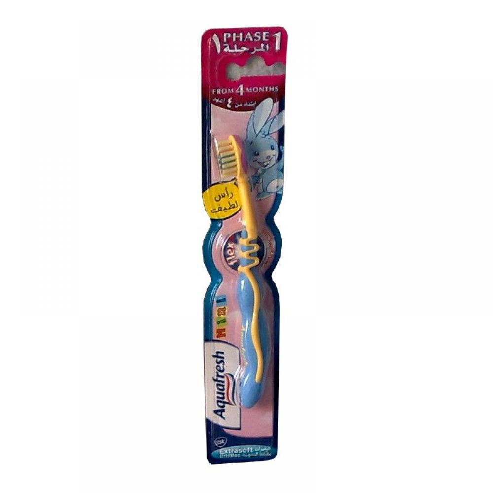 Aquafresh Phase 1 Mini Toothbrush Blue