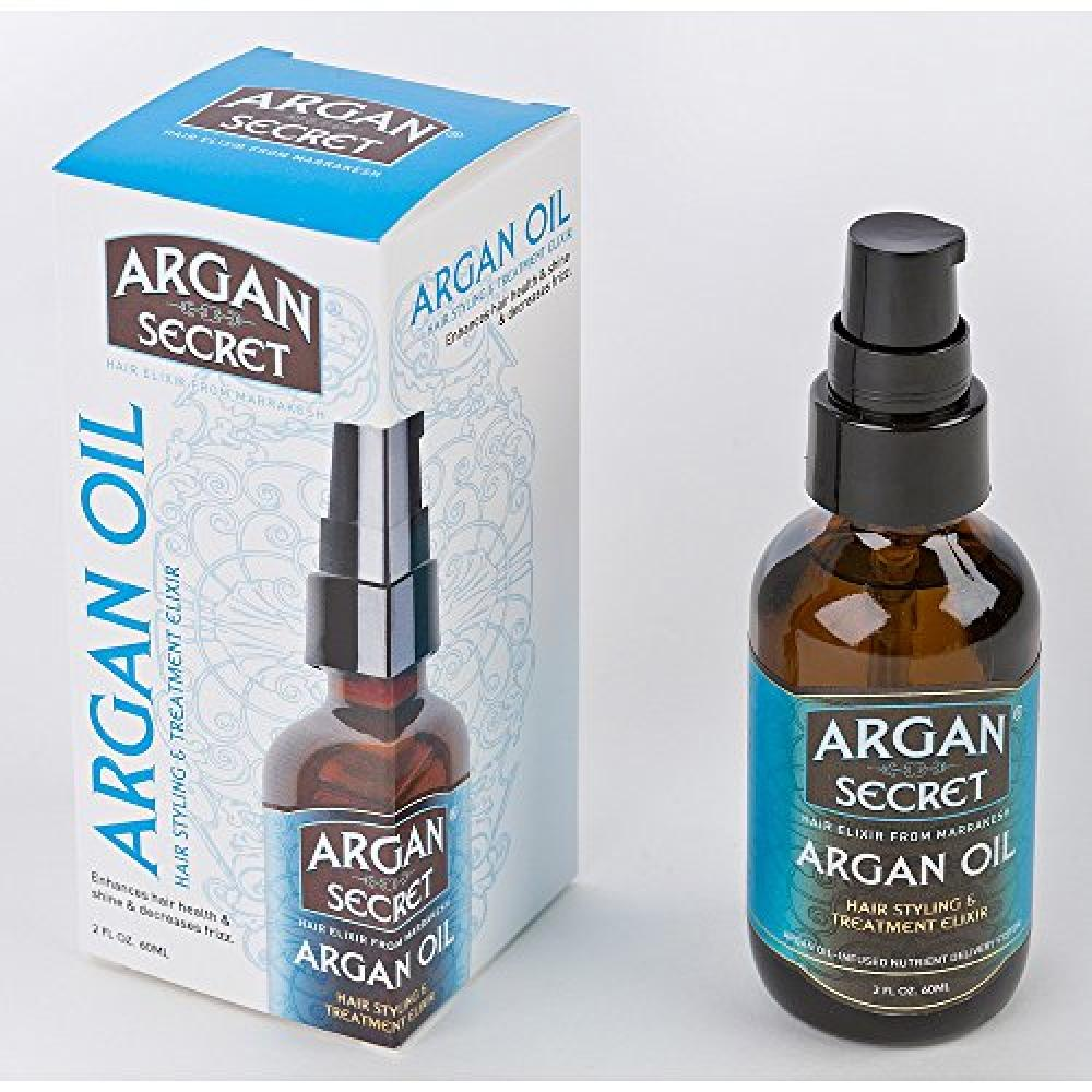 Argan Secret Hair Elixir Oil From Marrakesh