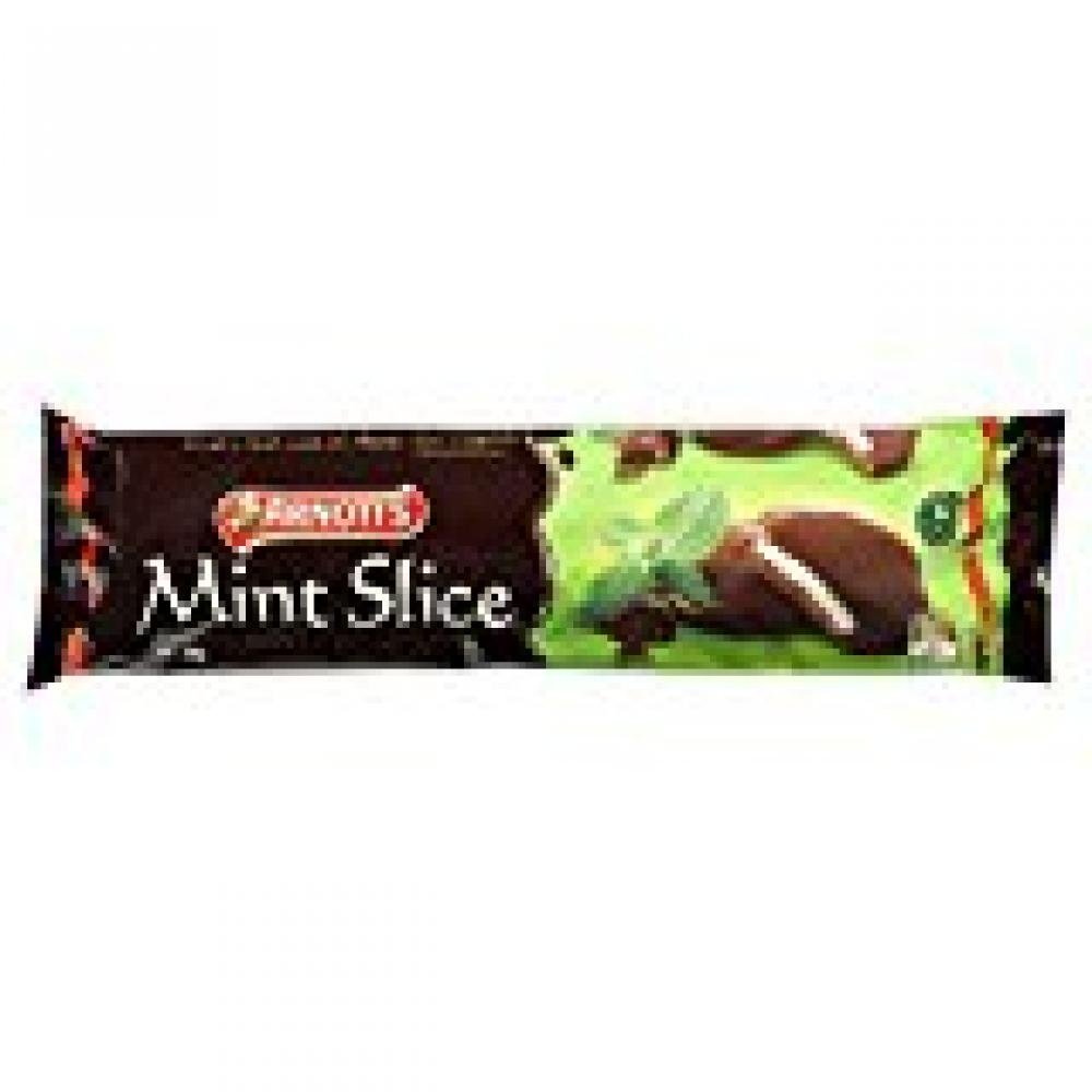 Arnotts Mint Slice Flavoured Biscuit 200 g