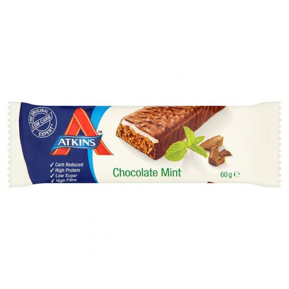 Atkins 60g Advantage Choc Mint Bar