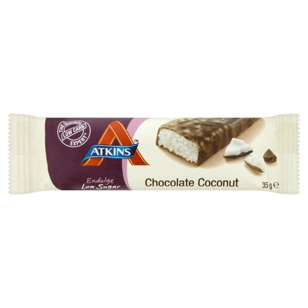 Atkins Endulge Chocolate Coconut Bar 35g