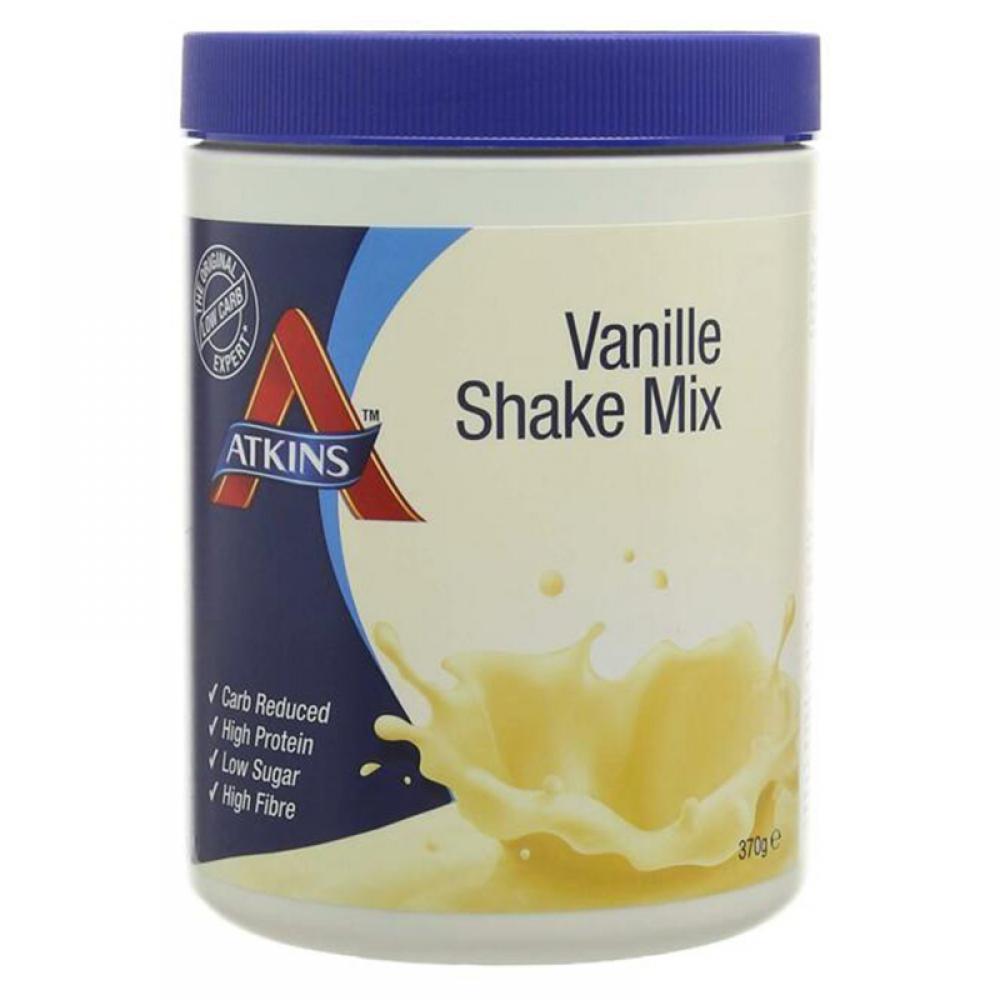 Atkins Low Carb Vanilla High Protein Shake Mix 370 g