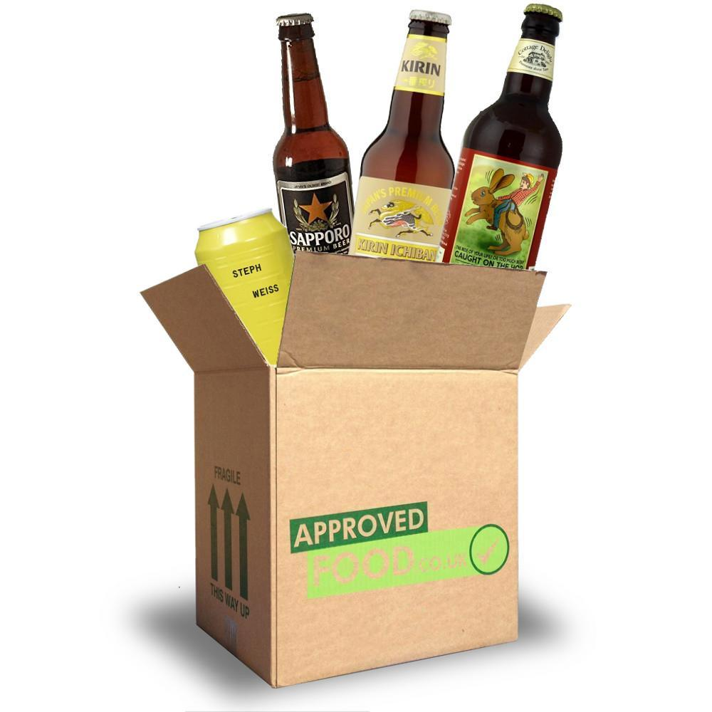 AUGUST SPECIAL  Approved Food Beer Box