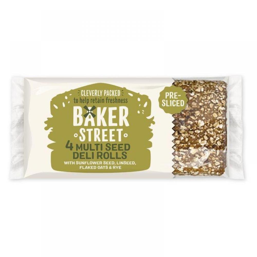 Baker Street 4 Multi Seed Deli Rolls