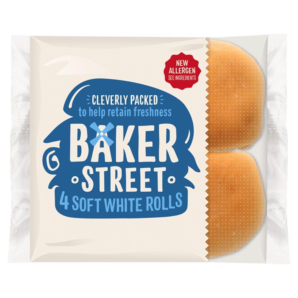 Baker Street 4 Soft White Rolls