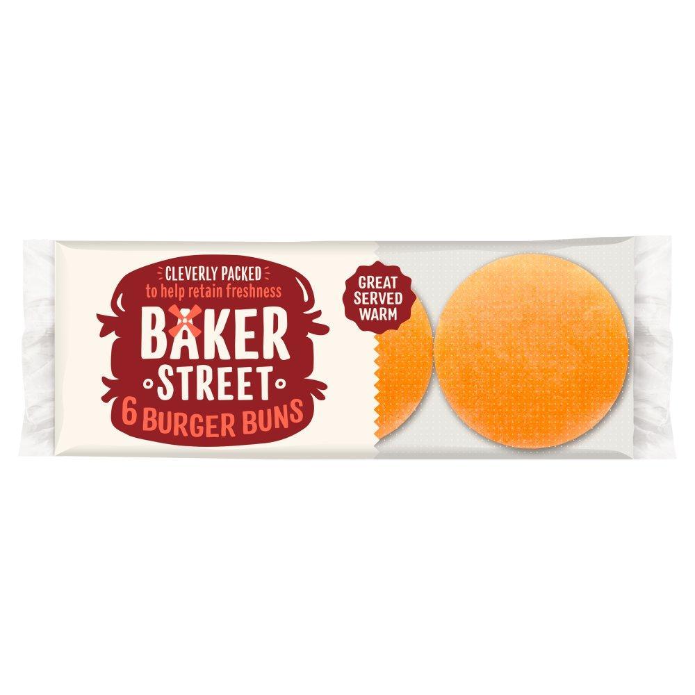 Baker Street 6 Burger Buns