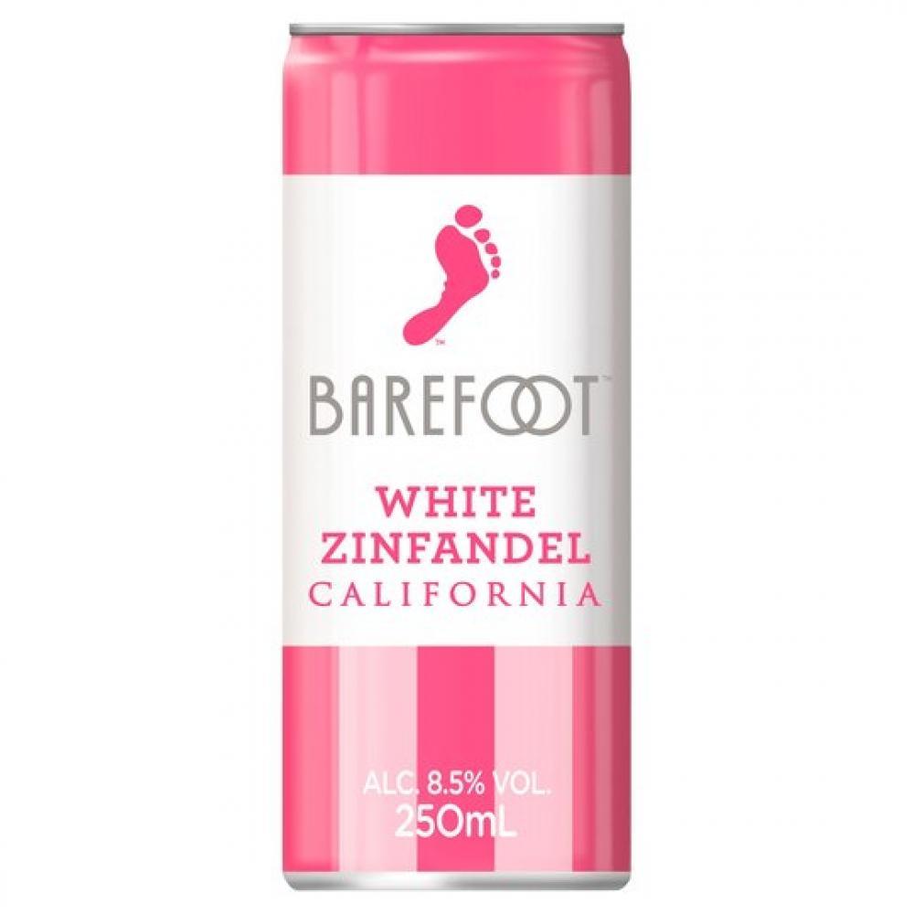 Barefoot White Zinfandel California 250ml